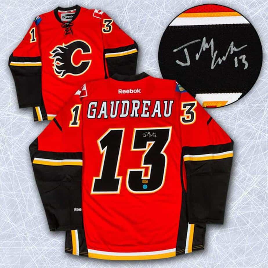calgary flames replica jersey